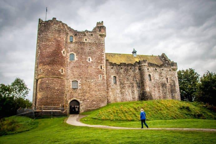 Doune Castle, Scotland- Exterior