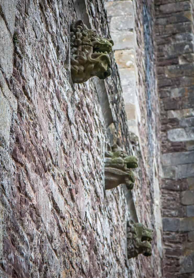 Doune Castle- Gargoyles