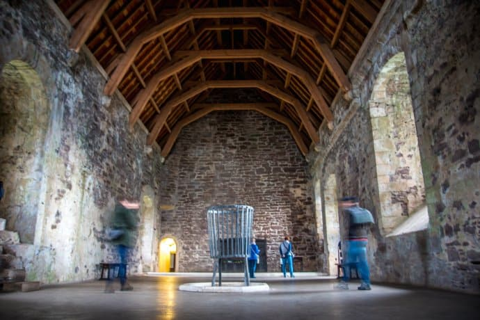 exploring doune castle one of the most famous filming