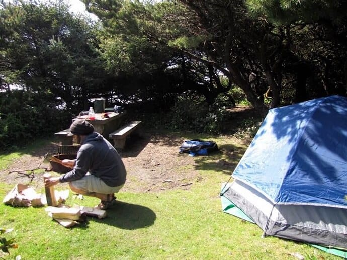 Save money on travel -Used Camping Gear