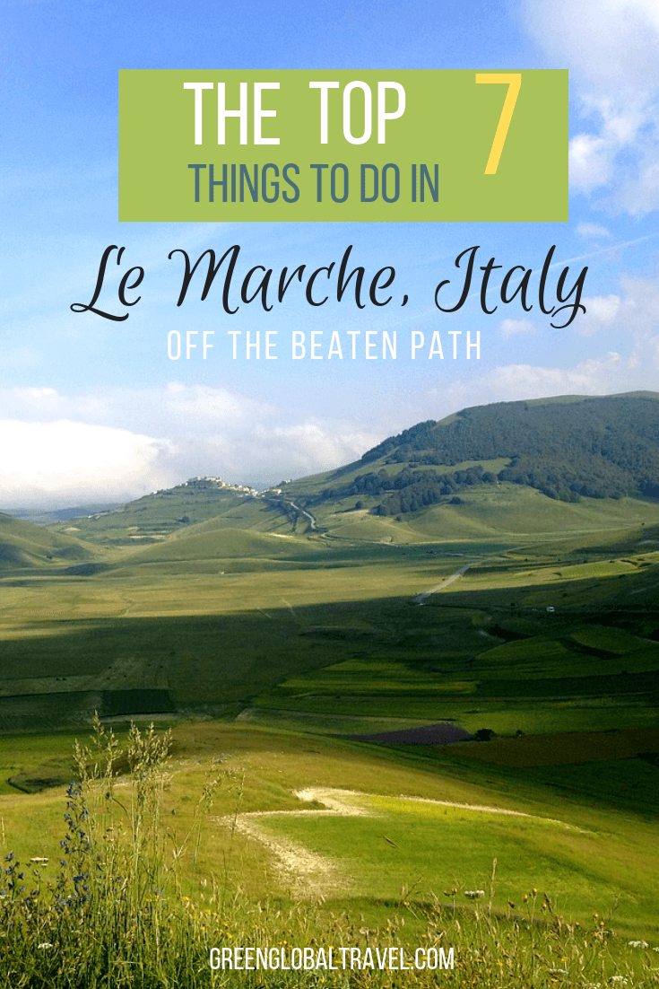 For your next Italy Vacation, check out our local's guide to Le Marche, Italy with 7 good things to see, including Frasassi Caves, Mount Conero, Osimo, & more! via @greenglobaltrvl #ItalyTravel #ItalyVacation #ItalyTrip #LeMarche #LeMarcheItaly #LeMarcheItalyTravel #LeMarcheItalyPosts #LeMarcheItalyTurismo #LeMarcheItalyGoodThings