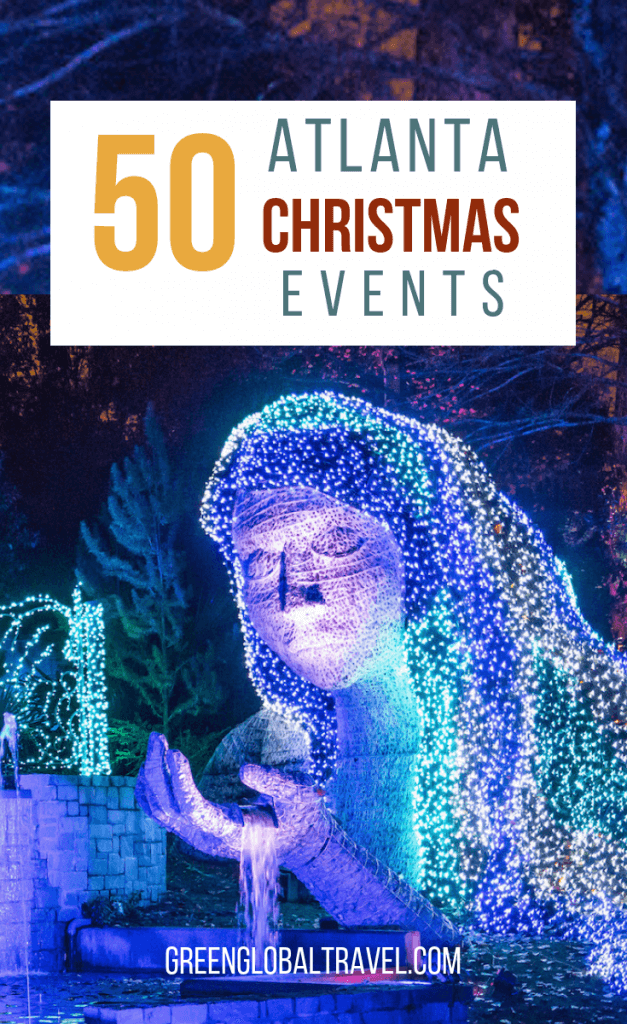 Atlanta Christmas Events: 50 Things to Do For Christmas in Atlanta including Atlanta Christmas Lights, Events for Kids in Atlanta, Christmas Shows in Atlanta, Atlanta Christmas Concerts & more! #ChristmasinAtlanta #ChristmasinAtlantaGA #AtlantaChristmasEvents #AtlantaChristmas #AtlantaChristmsLights #AtlantaChristmasEvents #AtlantaChristmasThings #ChristmasinGeorgia