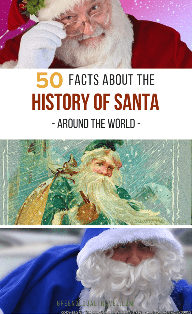 50 Facts About the History of Santa Claus Around The World #santaclausreal #santaclausrealsaintnicholas #santaclausrealcocacola #stnicolas #fatherchristmas #krisKringle #perenoel