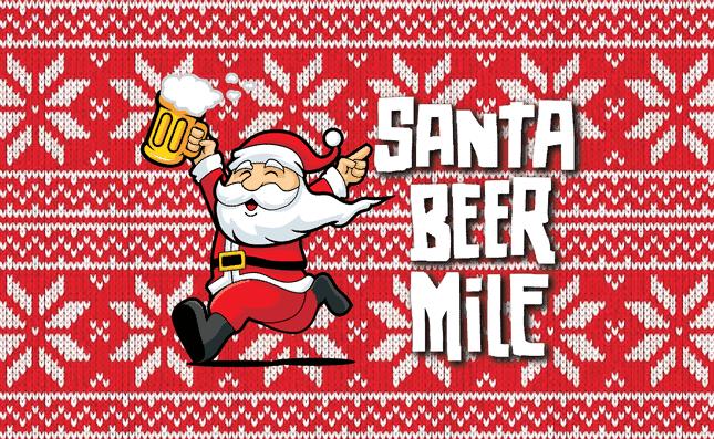 Adult Christmas Things To Do In Atlanta - SANTA BEER MILE