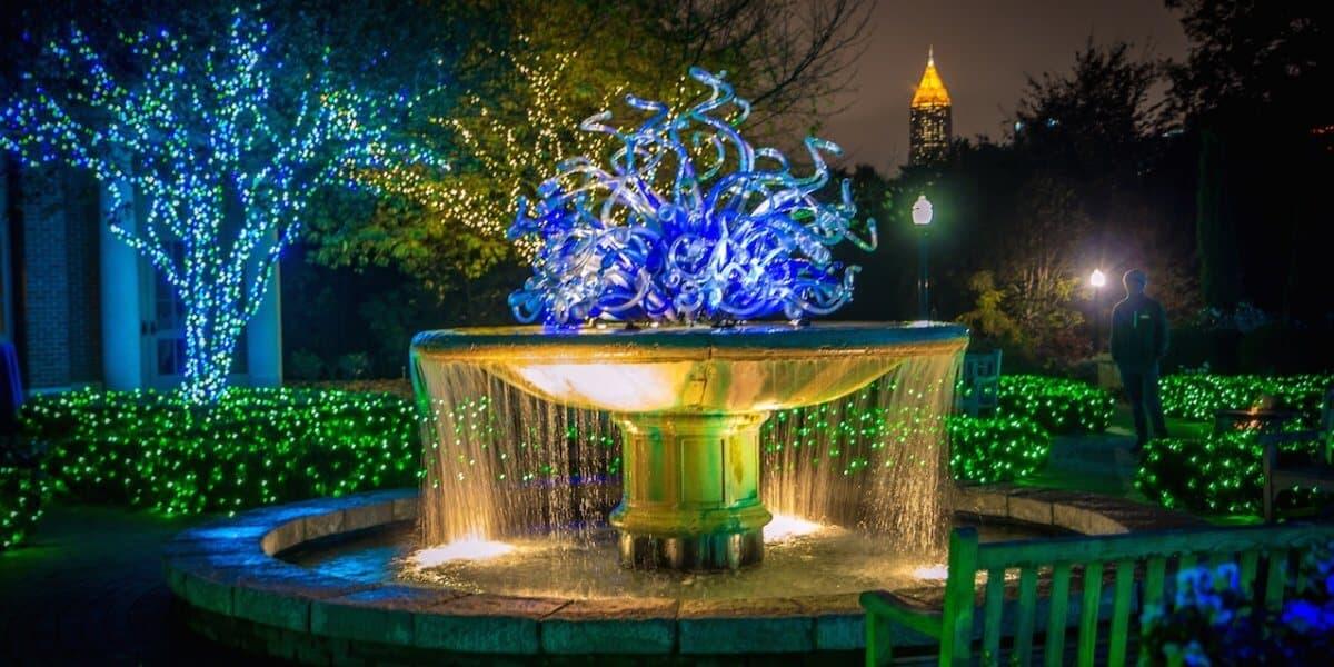Christmas Things To Do in Atlanta -Botanical Gardens_