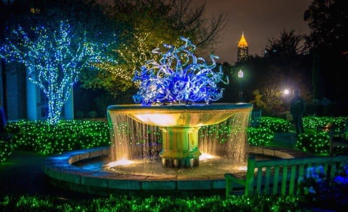 Christmas Things To Do in Atlanta -Botanical Gardens_