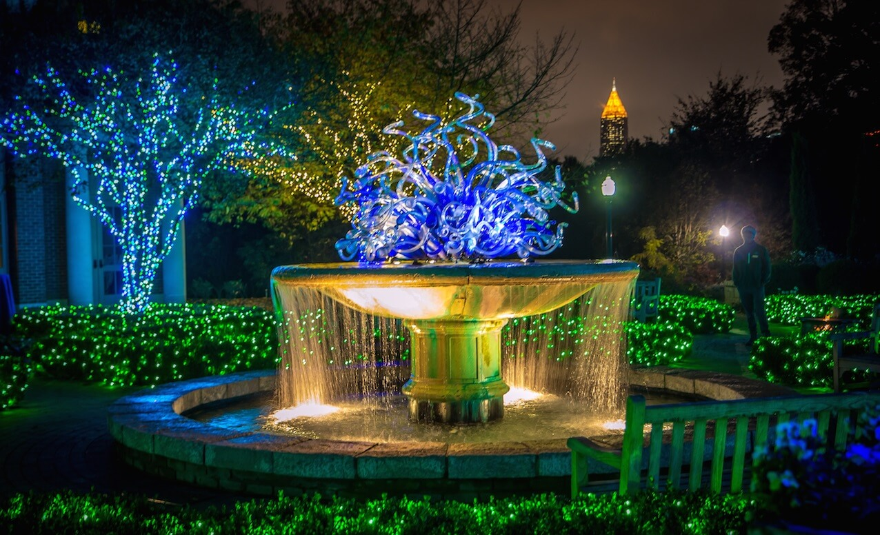 christmas things to do in atlanta botanical gardens_