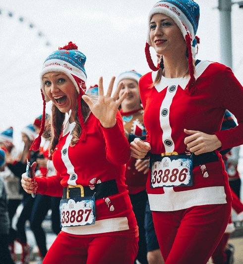 Charity Christmas Events in Atlanta -Ugly Sweater Run