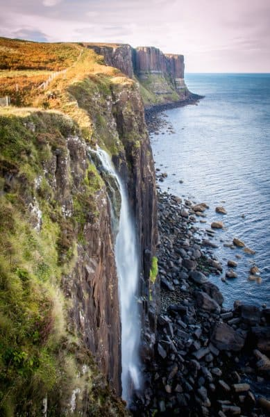 Kilt Rock on the Isle of Skye, Scotland