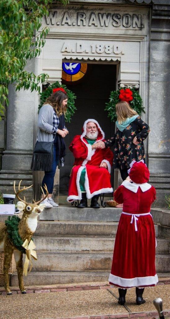 Oakland Cemetery, A Victorian Holiday courtesy of John Meeks