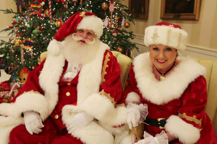 Santa & Mrs. Claus at the Governor's Mansion