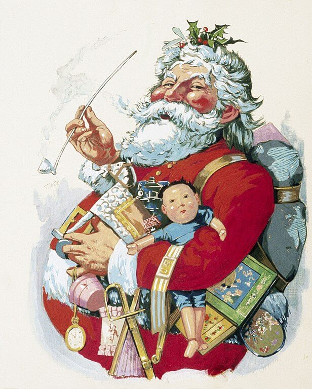 The Origins of Santa Claus in America