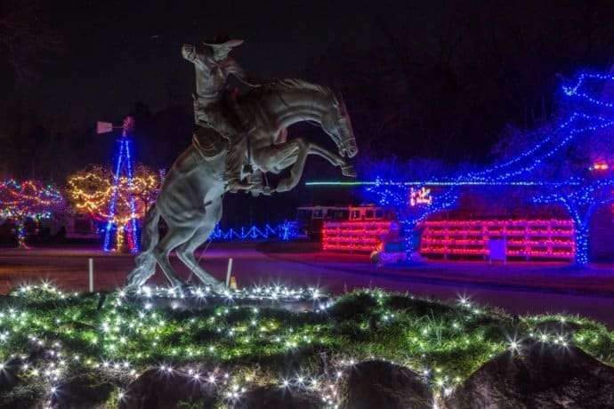 Rock Ranch Christmas Lights