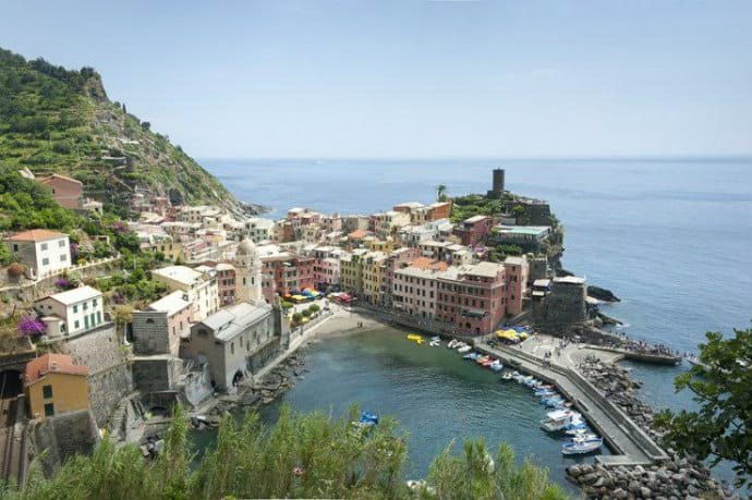 Cinque Terre Italy -Too Many Tourists