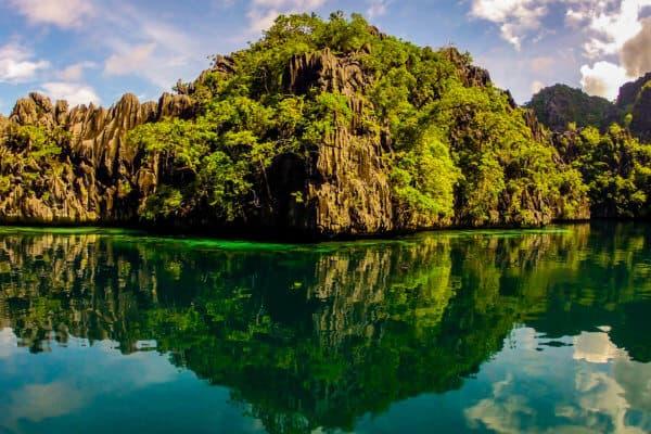 Karst landscape in Coron, Palawan