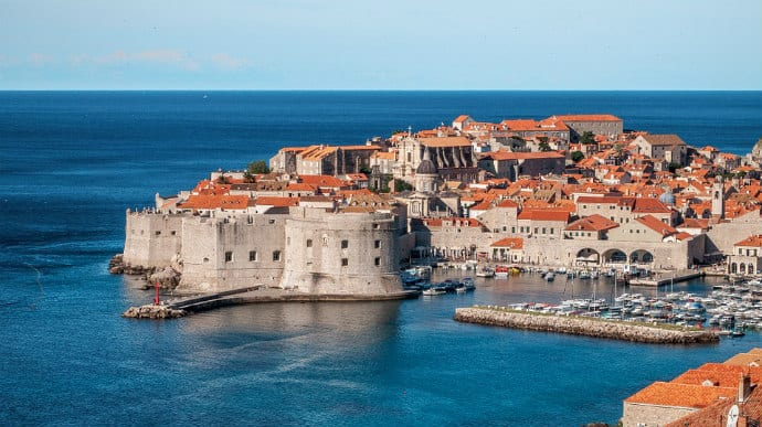 Dubrovnik Croatia -Flooded With Mass Amounts of Tourists