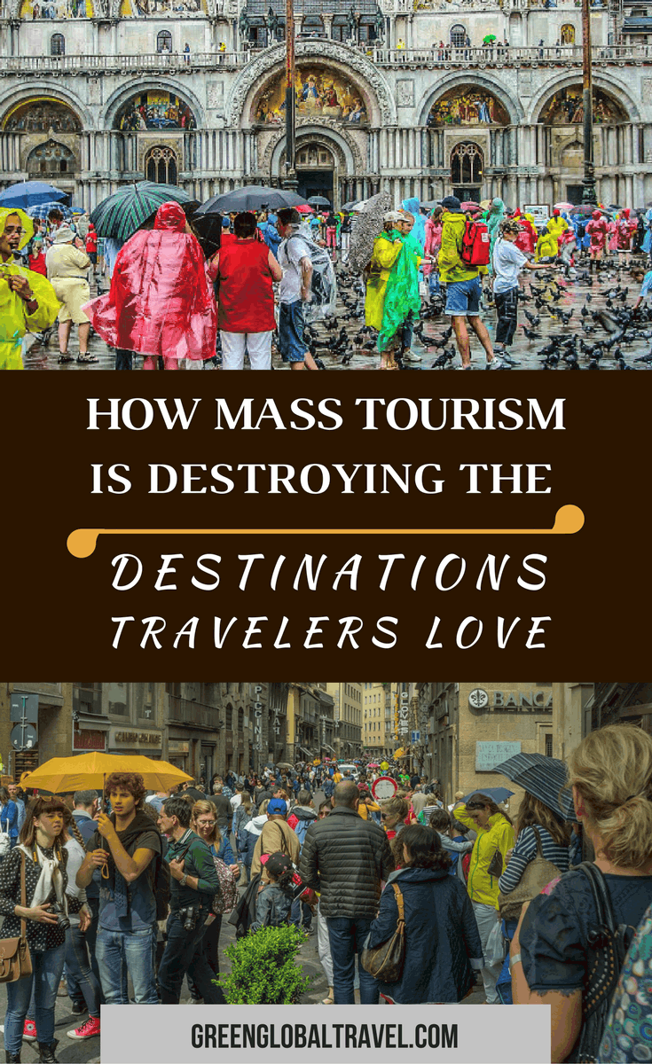"Developed in the latter half of the 19th century, mass tourism is defined by its cheap prices, package deals, and overwhelming popularity. Unfortunately, this type of travel is gradually destroying many of the destinations travelers love most. We examine what mass tourism is, why it's become so popular, and the negative impacts of ""overtourism"" around the world. via @greenglobaltrvl"