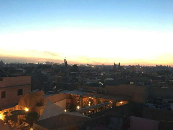 Tourism in Marrakesh, Morocco