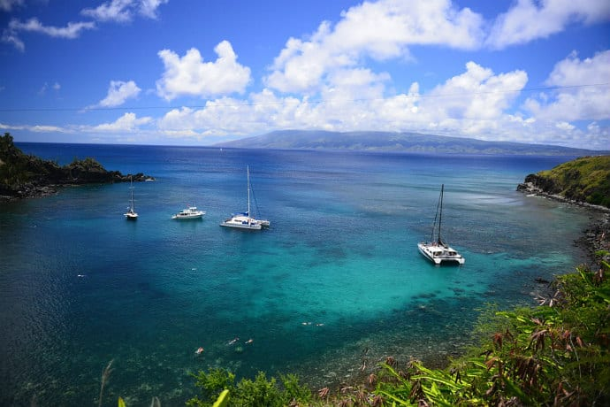 Maui -shows negative environmental impact of tourism