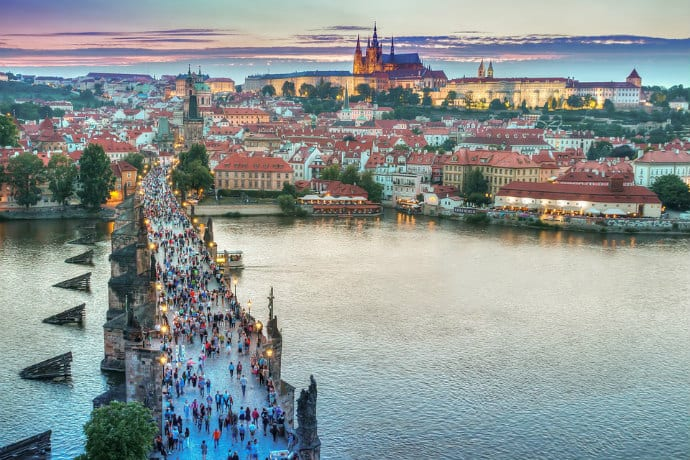 Prague Mass Tourism