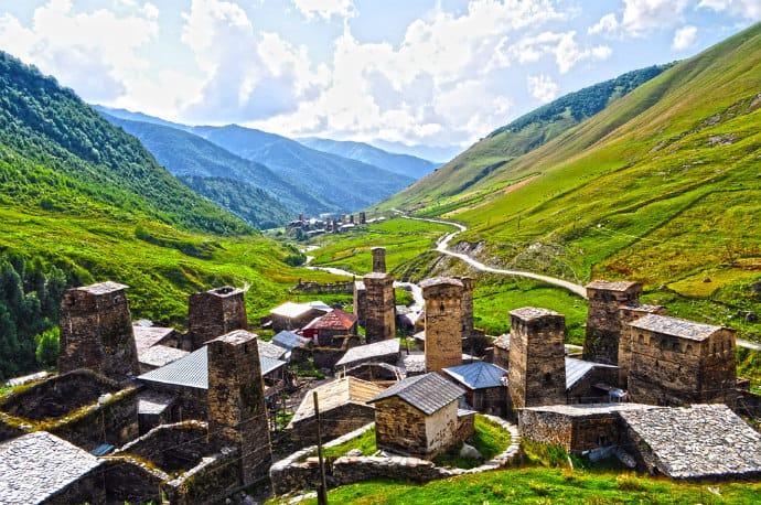 Svaneti, Georgia vulnerable to mass tourism