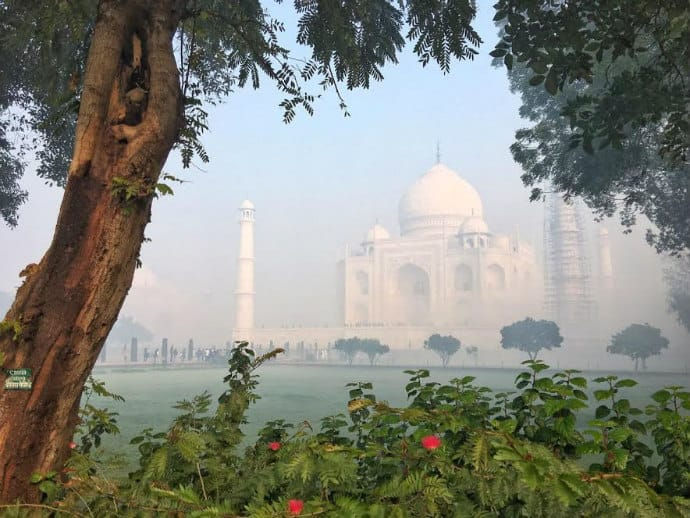 Over tourism at the Taj Mahal