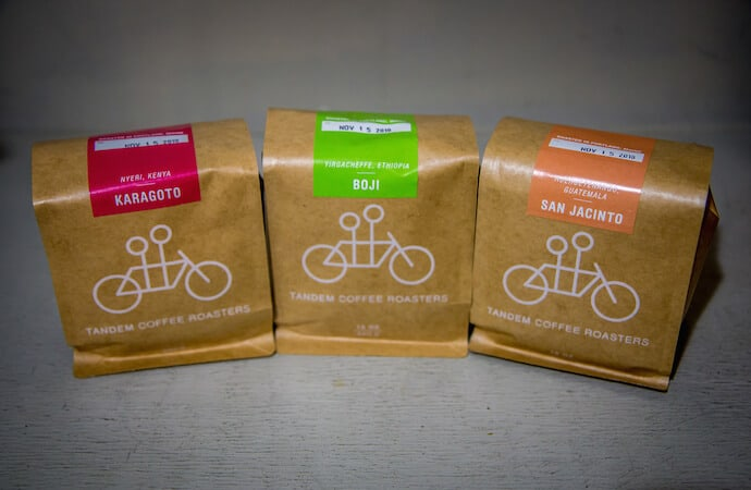 Best gifts for coffee drinkers -Tandem Coffee