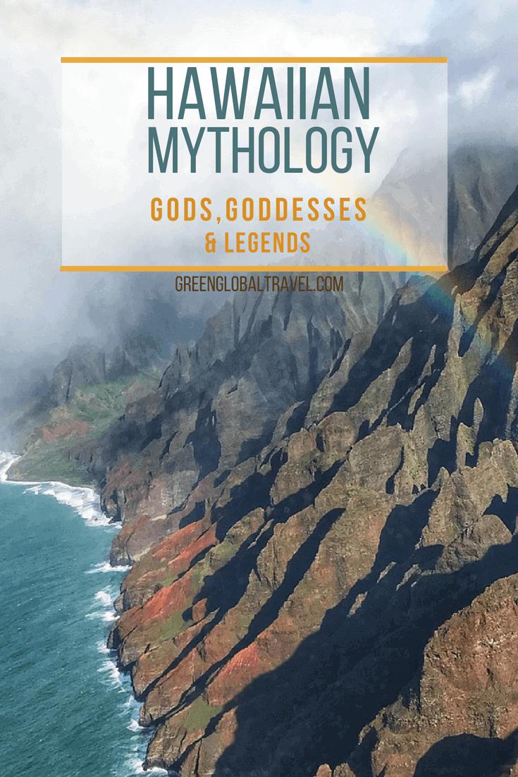 Hawaiian Mythology & Legends: an into to Hawaiian Goddesses & Gods including the Hawaiian Goddess Pele, Goddess Laka and more! via @greenglobaltrvl