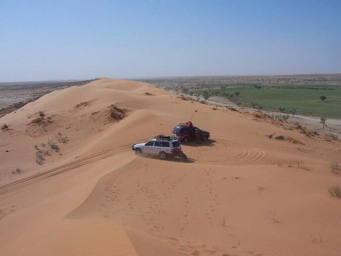Simpson Desert has the largest sand dune in the world