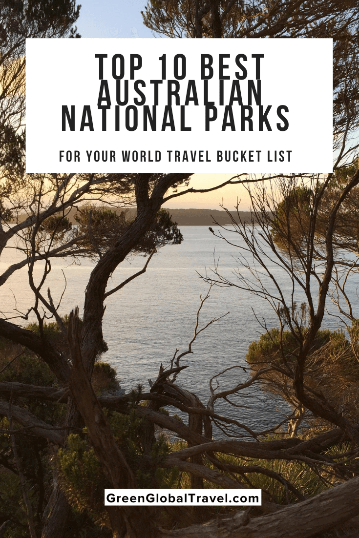The Top 10 Australian National Parks for Your World Travel Bucket List, including Great Otway, Kakadu, Daintree, Blue Mountains, and more. via @greenglobaltrvl