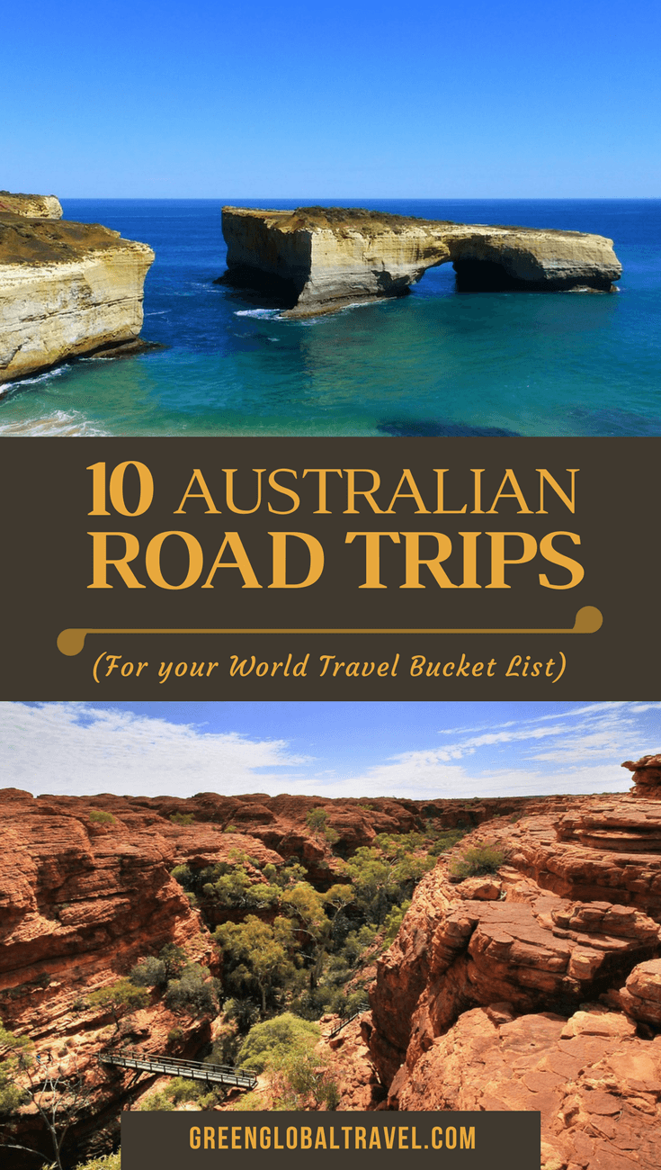 10 Australian Road Trips for your World Bucket List via @greenglobaltrvl