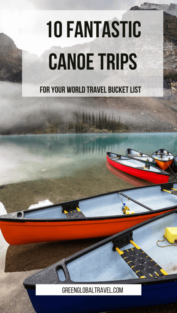 Check out our expert picks for 10 Fantastic Canoe Trips For Your World Travel Bucket List, including the Florida Everglades, the Belize Barrier Reef, Botswana's Okavango Delta, South America's Amazon River, the backwaters of Kerala (India), Southeast Asia's Mekong River, and more. via @greenglobaltrvl