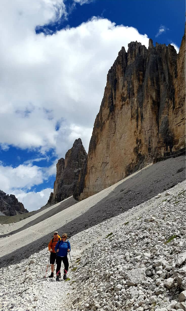 Hiking the Dolomites in Italy is a great summer travel adventure via @greenglobaltrvl