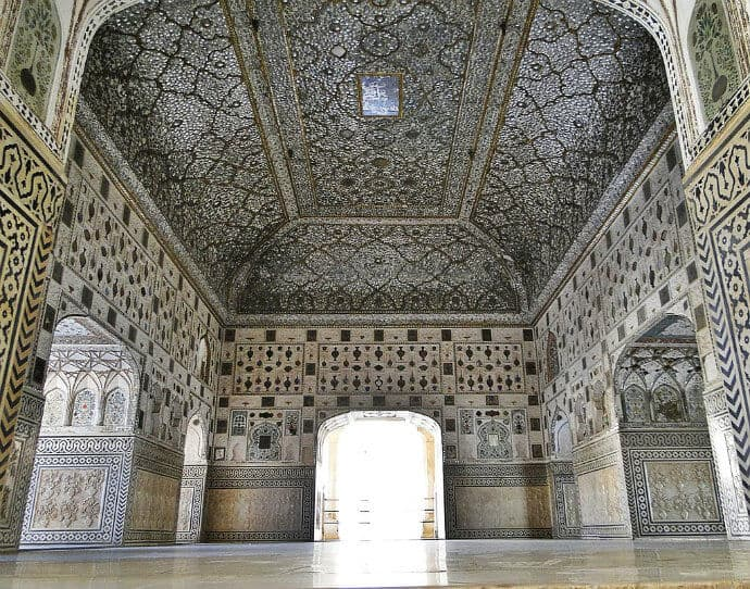 Sheesh Mahal in Agra's Red Fort by Ronakshah1990