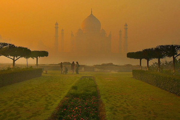 Tajmahal at Dawn
