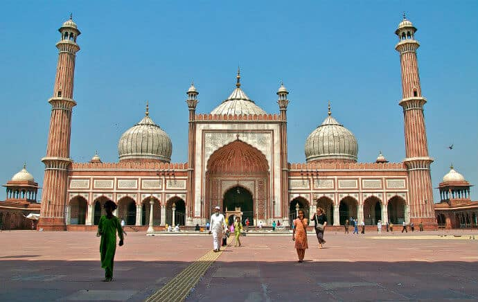What to do in Agra - Visit Jama Masjid
