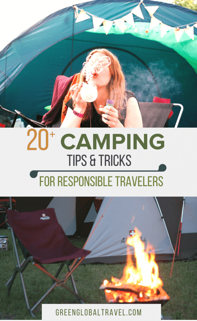 Check out our great Camping Tips & Tricks for ideas on how to be responsible when you are spending time in the great outdoors. Includes tips on finding the best campground, best campsite, camping on BLM Land, camping in National Parks and camping in State Parks. via @greenglobaltrvl