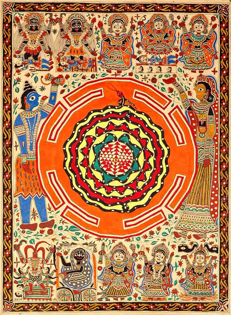 Art of East India -Mithila Painting, Madhubani Mahavidya