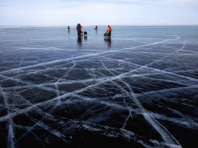 Largest freshwater lake - Lake Baikal, Russia