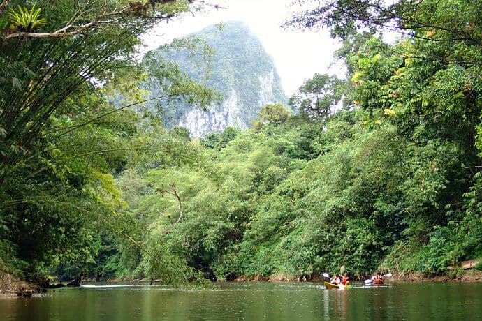 Things to do on the Island of Borneo, Malaysia - Borneo Rainforest Kayaking Near Kuching