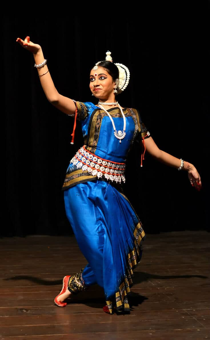 Indian classical dance -Odissi, originated in Orissa, India