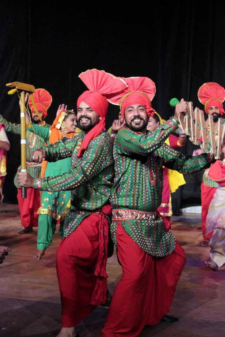 Cultural Traditions in Northern India -Punjabi Folk dance, Bhangara
