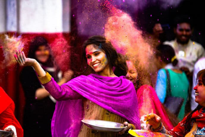 Culture in Northern India -Holi Festival