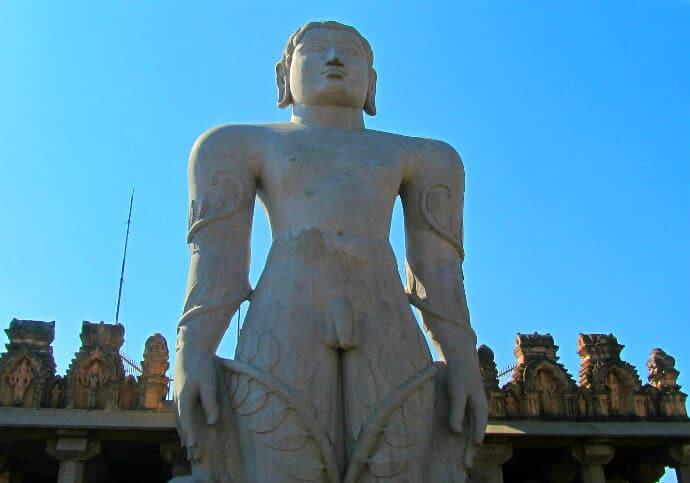 Culture in South India -Bahubali Statues Karnataka