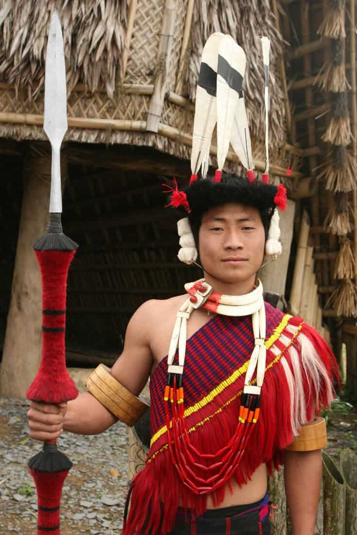 Culture of East India -Nagaland tribesman