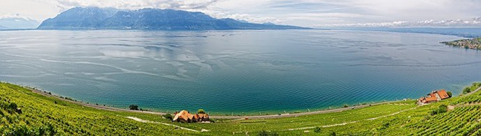 Largest lake in Central Europe - Lake Geneva