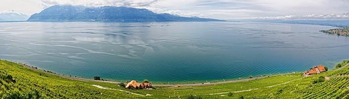 Largest lake in Central Europe - Lake Geneva