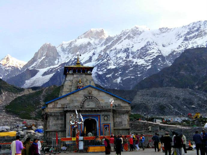 Himalayan Culture in India -Kedarnath Temple