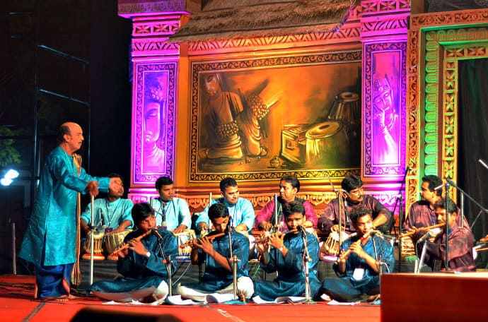 India Cultural Music Performance -Sangeet Natak