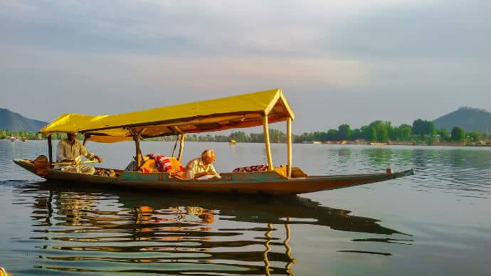 India's Himalayan Culture -Shikara Boats